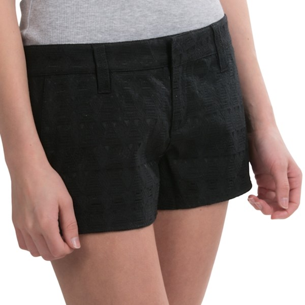 Hurley Lowrider Novelty Shorts - Trouser Fit (For Women)