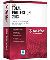 Secure your digital life with the ultimate Internet security software   McAfee Total Protection 2013