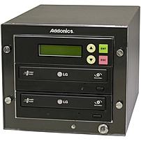 Addonics Dgc1 - (1:1 Dvd Duplicator) - Standalonedvd-rom, Dvd-writer - 24x Dvd r, 24x Dvd-r, 8x Dvd r, 8x Dvd-r, 48x Cd-r - 6x Dvd-rw, 8x Dvd rw, 5x Dvd-ram, 24x Cd-rw - Esata, Sata - 48 Cd Read/48 Cd Write/24 Cd Rewrite - 16 Dvd Read/24 Dvd Write/8 Dvd R