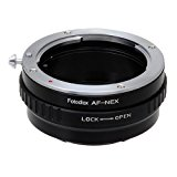 Fotodiox Lens Mount Adapter - Sony Alpha A-Mount (and Minolta AF) DSLR Lens to Sony Alpha E-Mount Mirrorless Camera Body