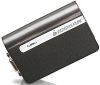 The USB 2.0 External Video Card allows you to connect an extra monitor to your desktop PC or laptop's USB port