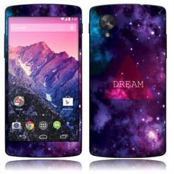 Triangle Dream LG Google Nexus 5 D820 Vinyl Skin Sticker