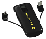 Brunton Metal 4400-black Battery Pack