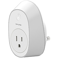 Tp-link Wi-fi Smart Plug Hs100 - 2p, 2p - 120 V Ac / 16 A, 230 V Ac - Alexa Supported