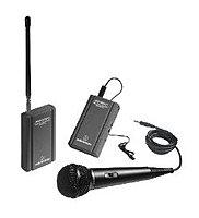 Audio Technica Atr-288w 500 Ohm Vhf Wireless Microphone For Camcorder - Black
