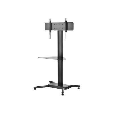 Peerless Ss560g Ss560g Flat Panel Cart - Stand For Lcd / Plasma Panel / Av System - Black Powder Coat - Screen Size: Up To 65