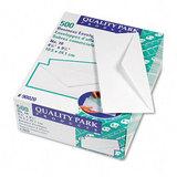 Business Envelope, Contemporary, #10, White, 500/Box
