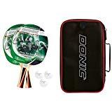 Donic-Schildkröt Tischtennis-Set TOP TEAMS 400, 2 Schläger, 3 Bälle in guter 1 Qualität, in wertiger Tasche, sehr gute Freizeitqualität, komplette Ausstattung, 788495