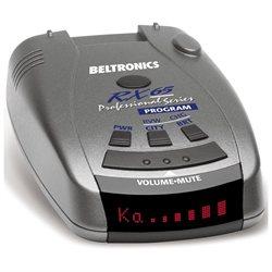 Beltronics Pro RX65 Radar Detector - X-band, K-band, Ka Band, Ku Band, Laser - VG-2 Immunity - City, Highway - Front, Rear Detection