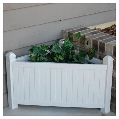 Corner Slat Planter