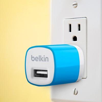 Belkin F8j017ttblu Mixit Usb Home Charger 5watt/ 1amp - Blue