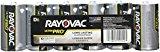 Rayovac UltraPro Alkaline D Batteries, 6-Pack (ALD-6)