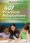 Award-winning educator Beverley Holden Johns provides time-saving and cost-effective tools that optimize learning for all students, including adaptations for vocabulary instruction, testing, and classroom environment.