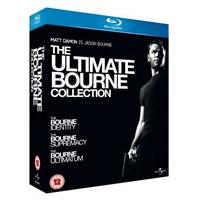 The Ultimate Bourne Collection - The Bourne Identity / The Bourne Supremacy / The Bourne Ultimatum (Blu-Ray)