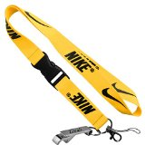 Nike Cell Phone Keychain Lanyard Keys ID MP3 Holder Neck Straps with LOCALS Bottle Opener (YELLOW)
