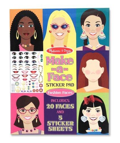 Melissa & Doug Make-A-Face Sticker Pad