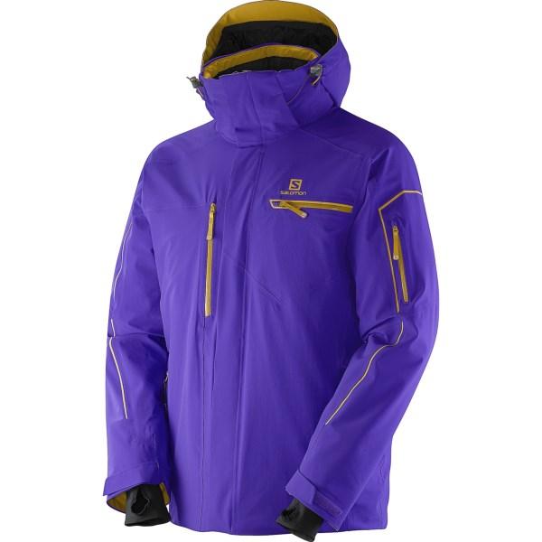 Salomon Brilliant Ski Jacket - Waterproof, Insulated (For Men)
