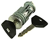 APDTY 035814 Ignition Lock Cylinder Assembly w/ New Keys (Non-Transponder Type; Fits Select 1997-2009 Dodge Chrysler Jeep Models; Replaces Mopar 5003843AB, 5003843AA, 4574029AB, 5083915AA, 5083915AB)