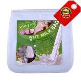 Almond Milk Bag - UNi-Fam The Best Reusable Nut Milk Bag 12