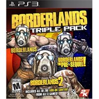 Borderlands Triple Pack - Ps3 By Ps3