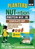 Planters Nutrition Protein Mix, Chocolate Nut, 8.6 Ounce 5 Count