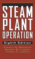 A classic that has helped engineers understand power plant equipment and design for more than half-a-century! An indispensable reference for more than 60 years, the Eighth Edition of Steam Plant Operations presents complex steam power plant systems in a format that can be quickly and easily understood.Power plant systems are illustrated and described with emphasis on operating characteristics and on the effects on plant economics.* NEW major updates in the areas of pumps, valves, turbines, condensers, feed-water systems, and cooling towers.*Used nationwide as a guide for local operating license examinations, readers will find questions and problems at the end of each chapter.Contents: Steam and Its Importance * Boilers * Design and Construction of Boilers * Combination of Fuels * Boiler Settings, Combustion Equipment and Heating Surfaces * Boiler Accessories * Operation and Maintenance Boilers * Pumps * Steam Turbines, Condensers, and Cooling Towers * Operating and Maintaining Steam Turbines, Condensers, Cooling Towers, and Auxiliaries * Auxiliary Steam-Plant Equipment * Environmental Control Systems * Water-to-Energy Plants