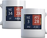 28-3 Comeback Mug (34-28 on other side) New England Champions Coffee Mug