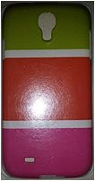 Couture 890968405821 Case for Samsung Galaxy S4   Green, Orange and Pink