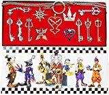 Kingdom Hearts Keyblade Keychain Pendant Necklace Set Collection 13pcs