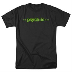 The Psych-Ic Is In -- Psych Adult T-Shirt