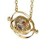 New Arrival Gold Plated Harry Potter Time Turner Necklace Hermione Granger US SELLER