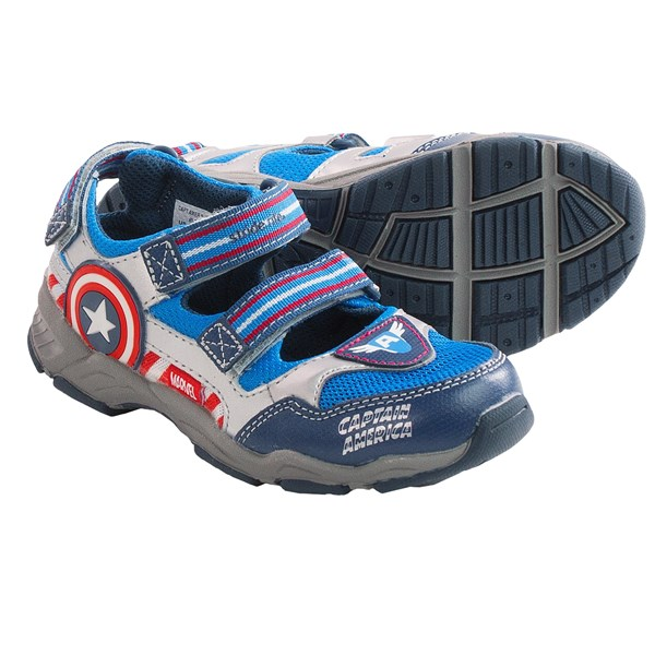 Stride Rite Captain America Sandals (for Toddler Boys)