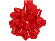 Super Giant Bow In Red - 9 Inch Diameter - Sold Individually