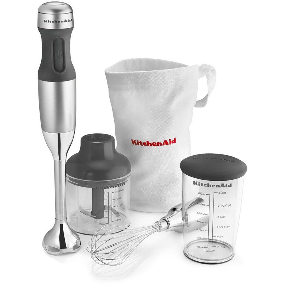 KitchenAid 3Spd Immersion Blender Silver