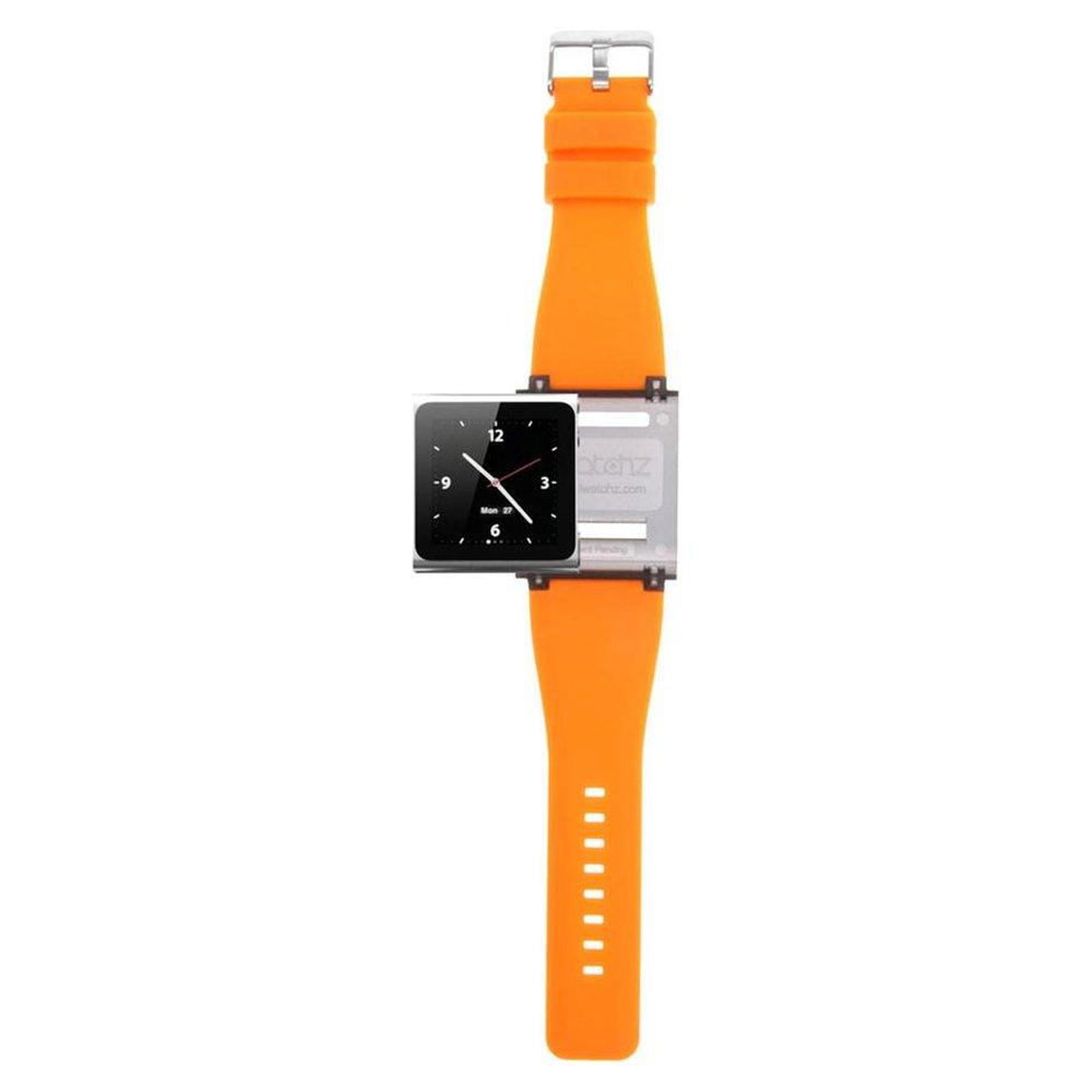 iWatchz Q Collection Watchband for iPod Nano (6th generation) - Orange