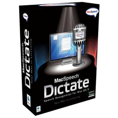 MacSpeech Dictate ( v. 1.5 ) - complete package