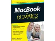 MacBook for Dummies For Dummies (Computer/Tech) 4 Binding: Paperback Publisher: John Wiley & Sons Inc Publish Date: 2012/11/19 Synopsis: Looks at the features and functions of the MacBook, covering such topics as customizing preferences, browsing the Internet, configuring iCloud, chatting on FaceTime, using iTunes and other multimedia applications, and troubleshooting
