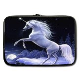 Twin Sides Unicorn Custom Laptop Sleeve / Laptop Bag / Laptop Cover / Laptop Sleeve Macbook Air fits most of 15