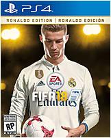 Ea 014633737479 Fifa 18 Ronaldo Edition Video Game - Ps4