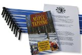 Maple Tree Tapping Kit (Pack of 10) Tree Saver Taps and Spiles Kit - Taps and 3 ft. Blue Drop Line Tubes - Plus 80 page how-to book