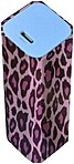 Bytech Pb-302 Portable Power Bank - 2000 Mah - 5v - Pink Leopard Print