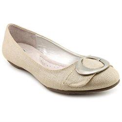 Dr. Scholl's Habit Womens Silver Textile Flats Shoes