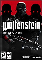 The Bethesda 093155118829 Wolfenstein  The New Order reignites the series that created the first person shooter genre