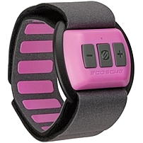 P RHYTHM heart rate monitor for women uses no bulky chest straps or wires and easily attaches to your forearm for full wireless communication with your device