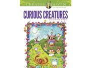 Curious Creatures Coloring Book By Dover Publications