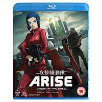 Ghost In The Shell Arise: Borders Parts 1 And 2 (Blu-ray)