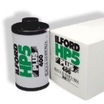 Ilford 1574577 HP5 Plus, Black and White Print Film, 135 (35 mm), ISO 400, 36 Exposures