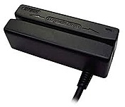 Id Tech Minimag Ii Idmb-333133b Keyboard Wedge Card Reader - Tracks 1, 2, And 3 - Black