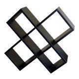 ORE International CD Rack - Black Color: Black