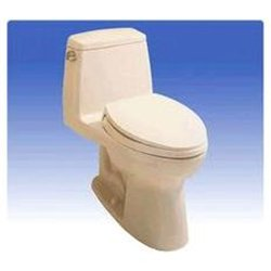 Ultramax Elongated Low Consumption Toilet - Finish: Colonial White